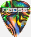 Boss Medium Plektra 12-pack Abalone