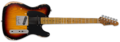 ESP LTD TE-254 DISTRESSED 3-TONE BURST SÄHKÖKITARA