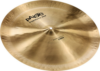 "Paiste Formula 602 Modern Essentials 18"" china"