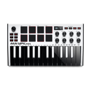 Akai MPK mini MK 3 white midikeyboard