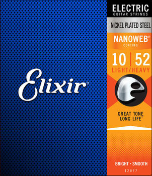 Elixir Nanoweb 10/52 Nickel Plated Steel