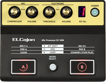 Roland EC-10M Mic Processor poistonetto