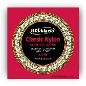 D'addario EJ27N Normal Tension nylonkielisetti