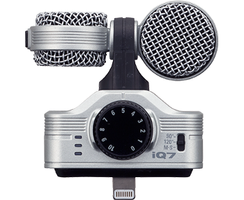 Zoom iQ7 mikrofoni iPhone & iPad-laitteille